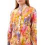 Рубашка Дейна-8 цветная в полоску