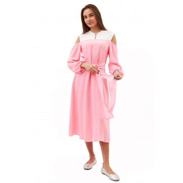 Платье «Миа» розового цвета