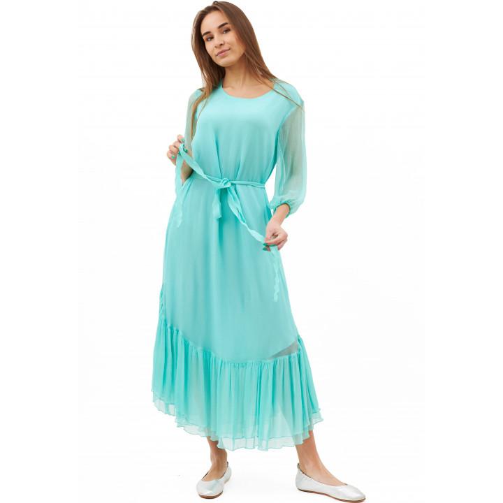 Платье «Долли» мятного цвета