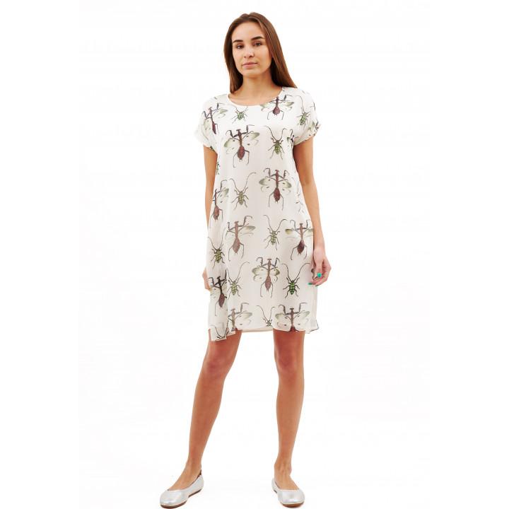 Платье «Елена» белого цвета