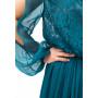 Платье «Хилари» цвет морской волны