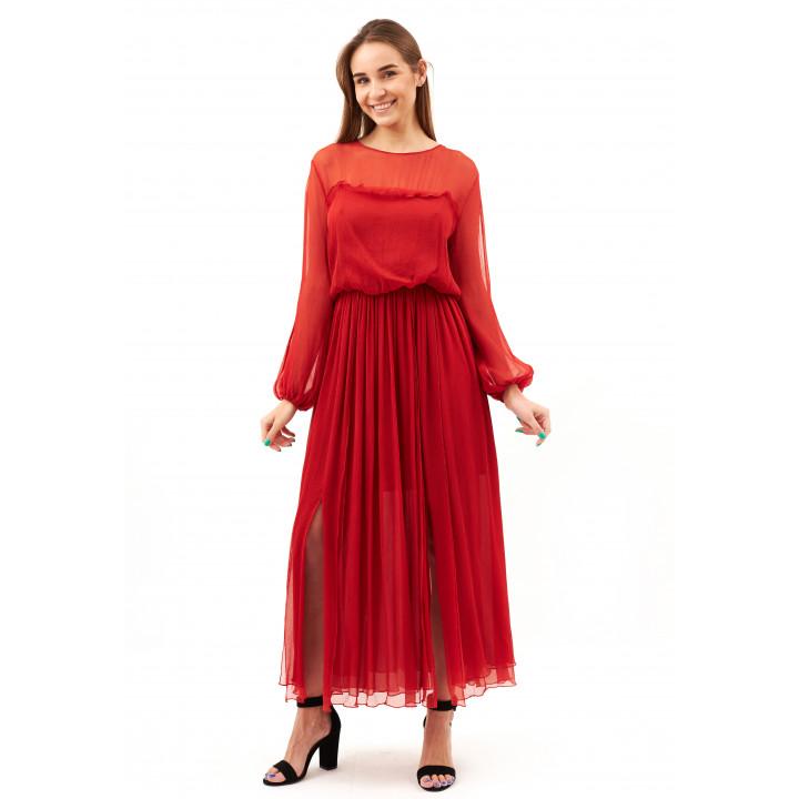 Платье «Хилари» красного цвета
