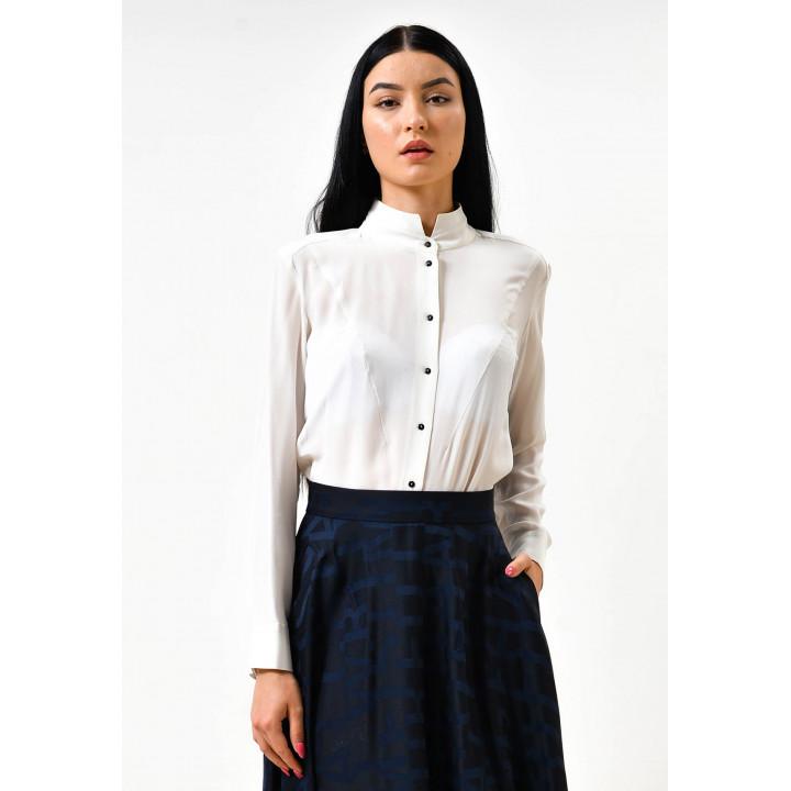 Блуза «Дейна» белого цвета