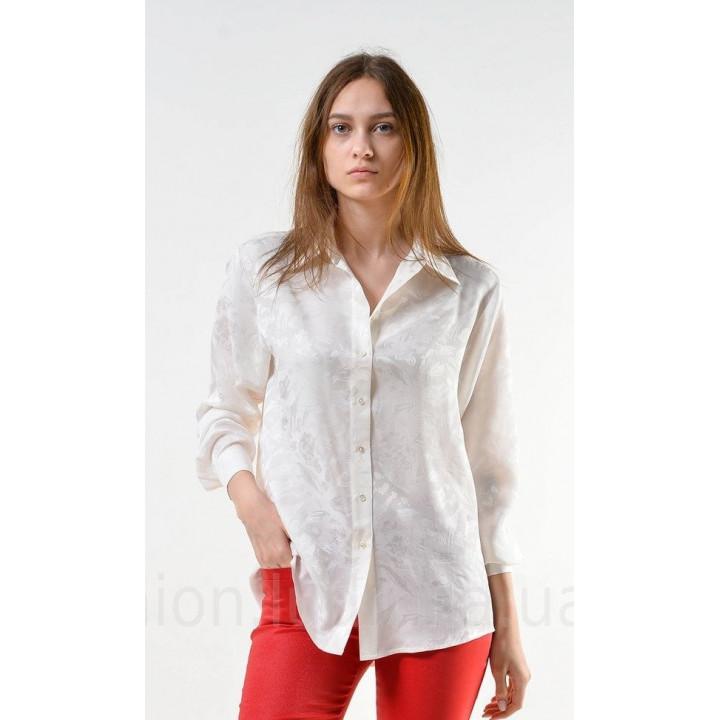 "Блуза ""Китти"" Белого цвета"