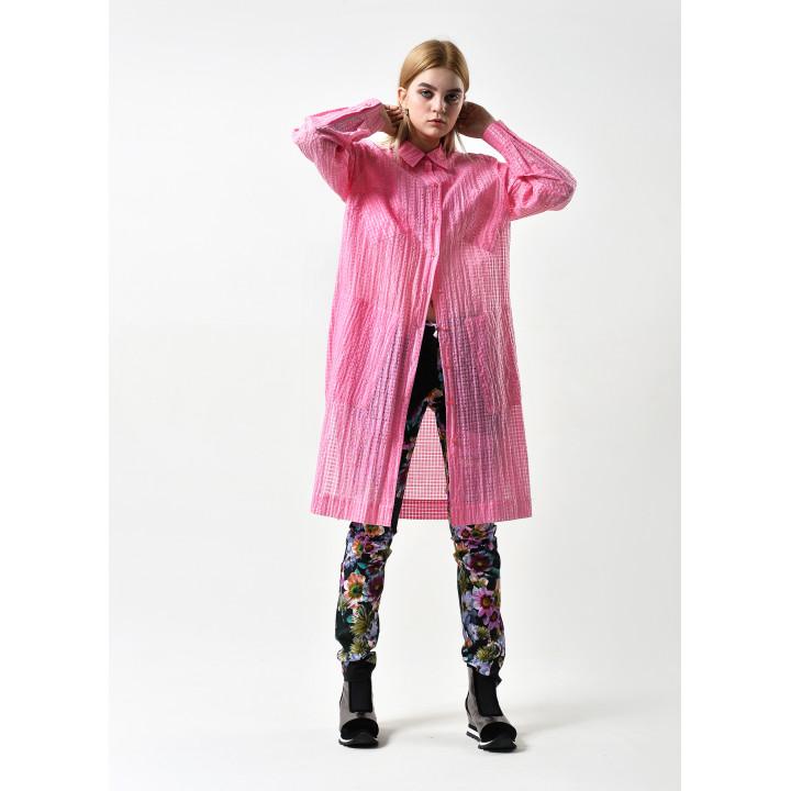 """Рубашка """"Луиза"""" розового цвета"""
