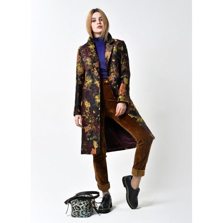 """Пальто """"Блэр"""" коричневого цвета"""