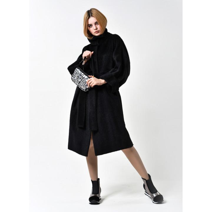 """Пальто """"Арни"""" черного цвета"""