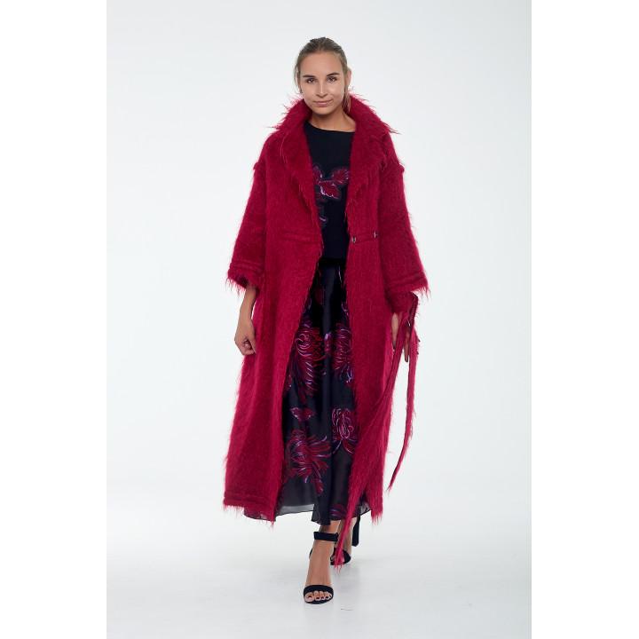 """Пальто """"Беверли"""" красного цвета"""