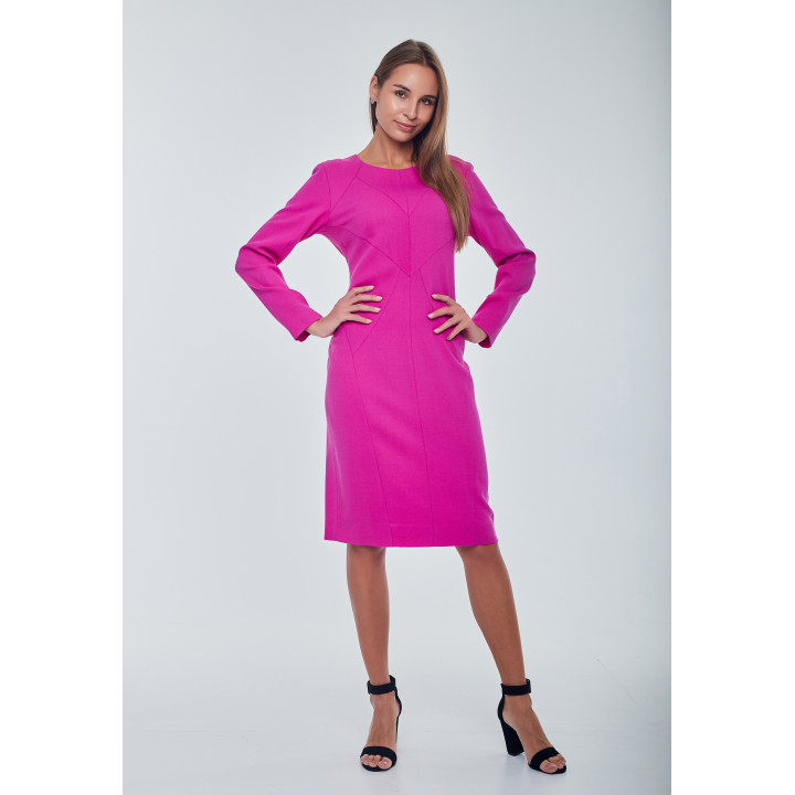 "Платье ""Кристи"" розового цвета"