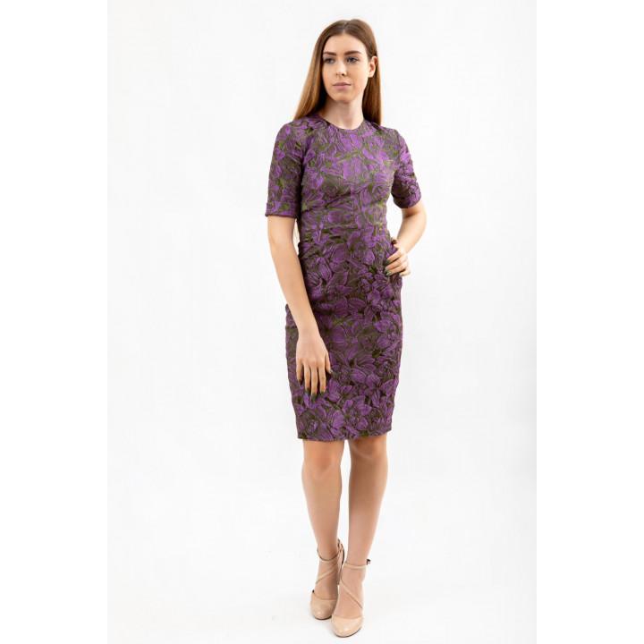 Платье «Прато» лилово цвета