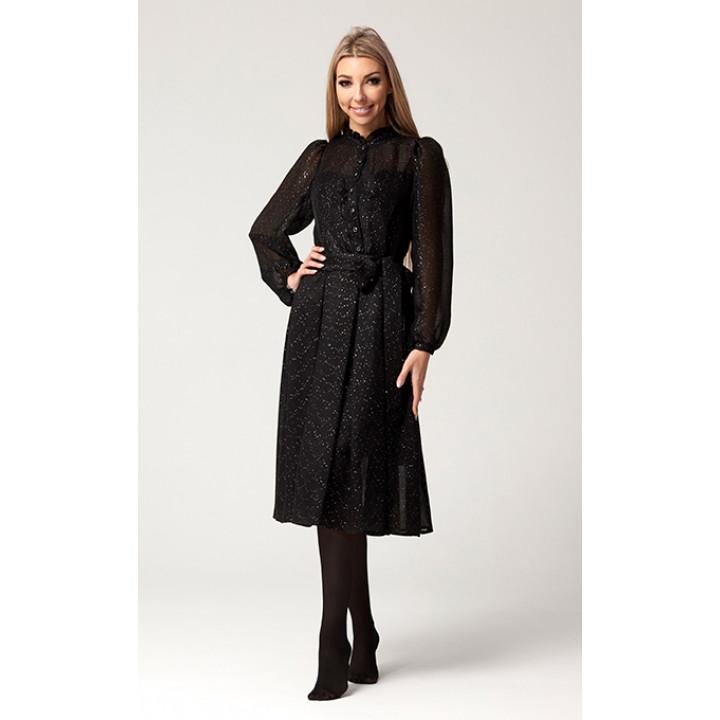 Платье «Таяна» черного цвета