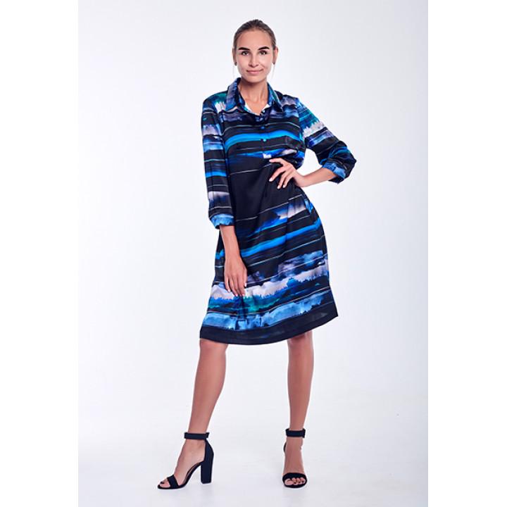 Платье «Павия» черного цвета