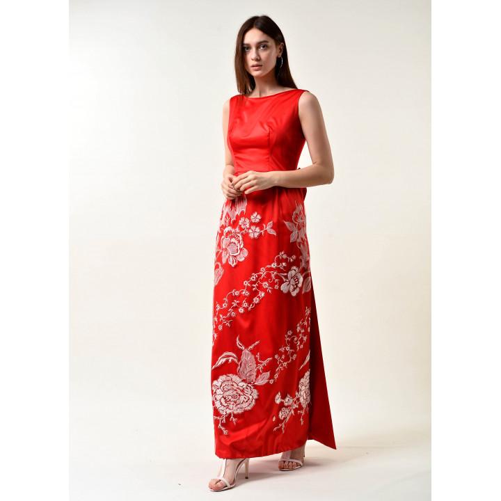 """Платье """"Жанна"""" красного цвета"""