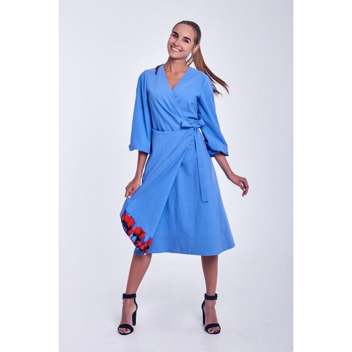 """Платье """"Карсия"""" голубого цвета"""