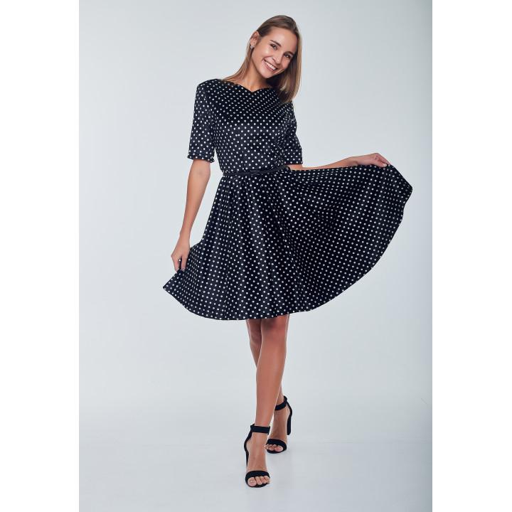 Платье «Айрин» черного цвета