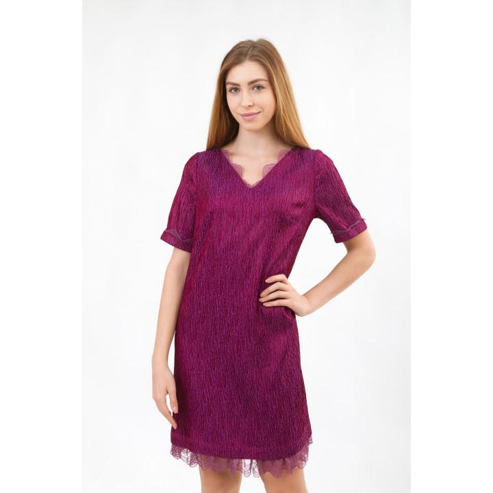 Платье «Тифани» цвета фуксии