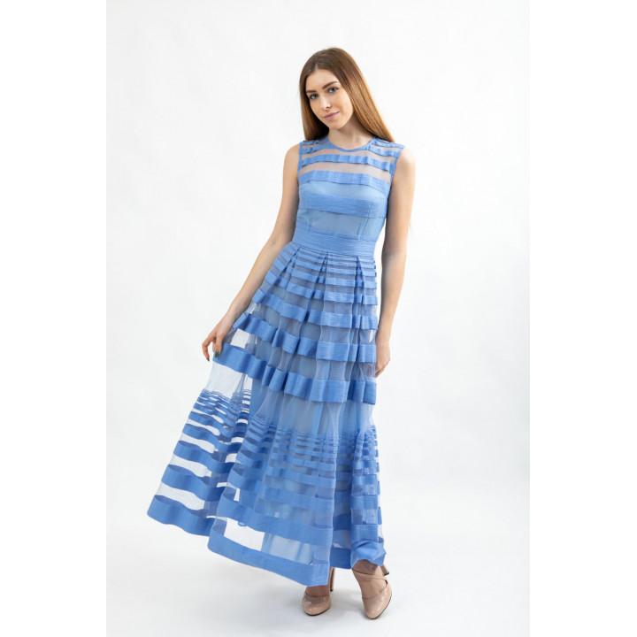Платье «Джульетта» небесно-голубого цвета