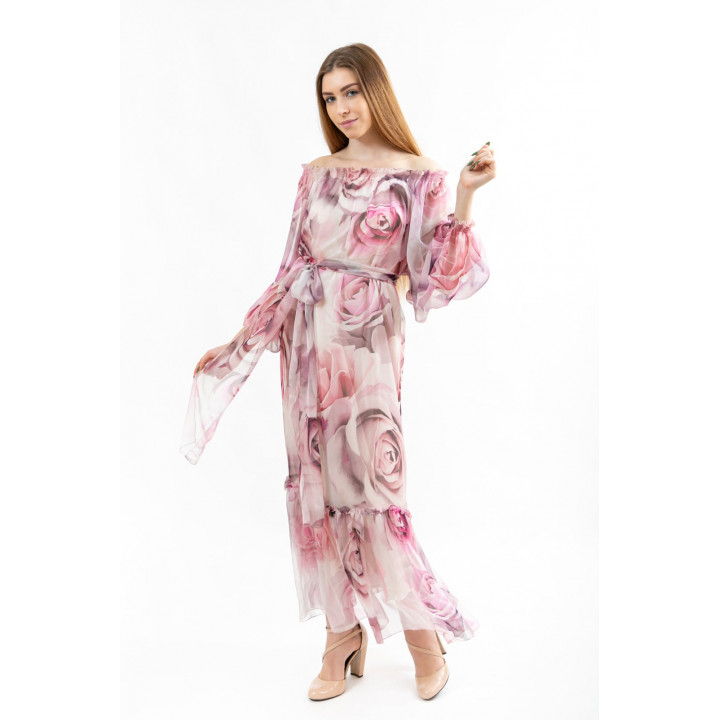 Платье «Летиция» пудрово-розового цвета