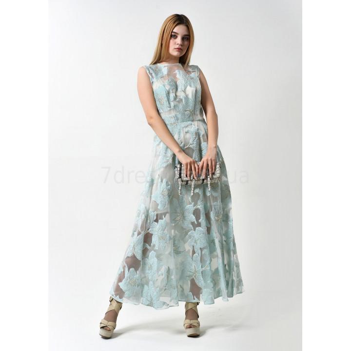 Платье «Фаенца» мятного цвета