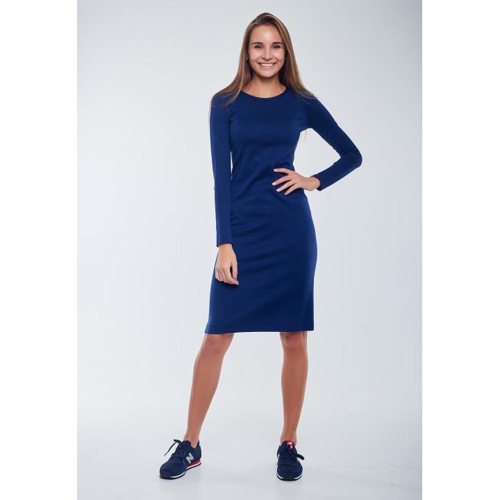 Платье «Амаль-1» синего цвета