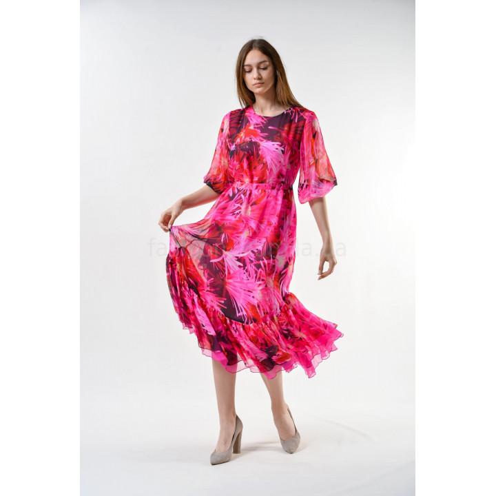 Платье «Долли-2» цвет фуксии