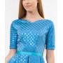 Платье «Айрин» голубого цвета