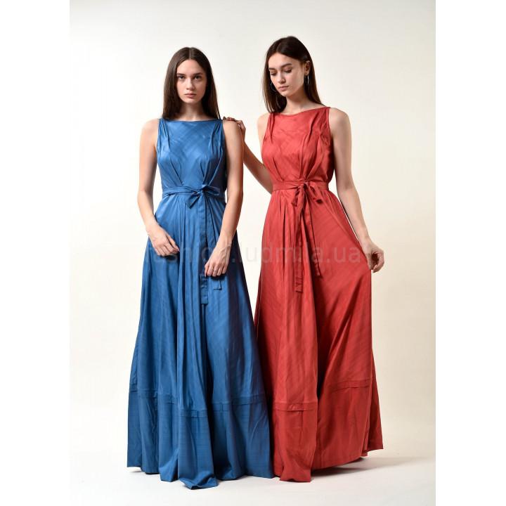 Платье «Бриана» синего цвета