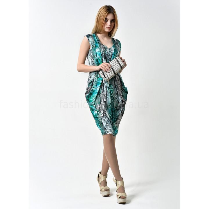 Платье «Рубин» бирюзового цвета