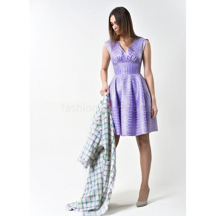 Платье «Сальва» сиреневого цвета
