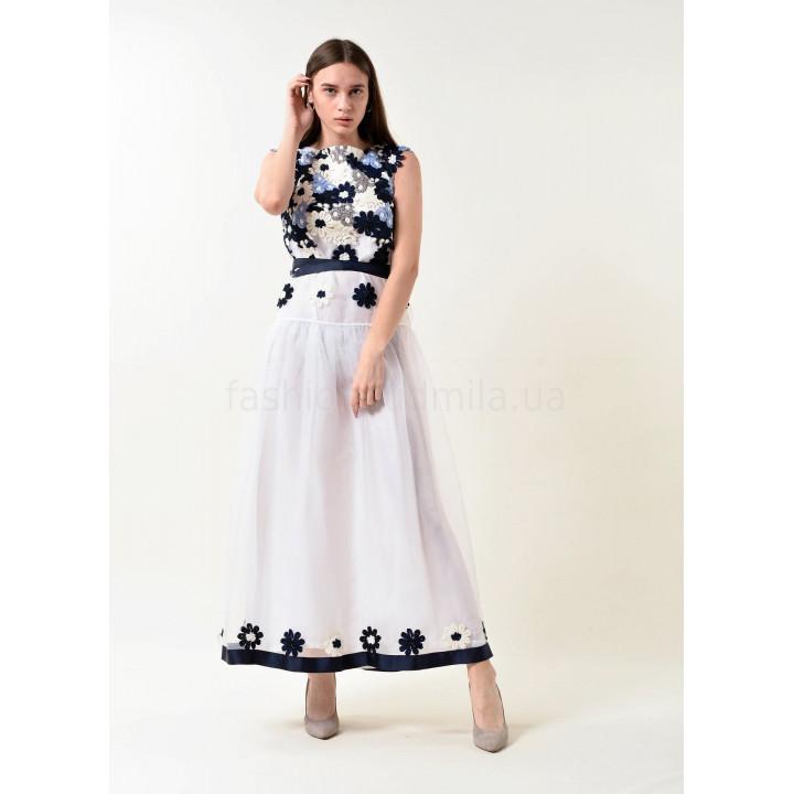 Платье «Азалия» белого цвета