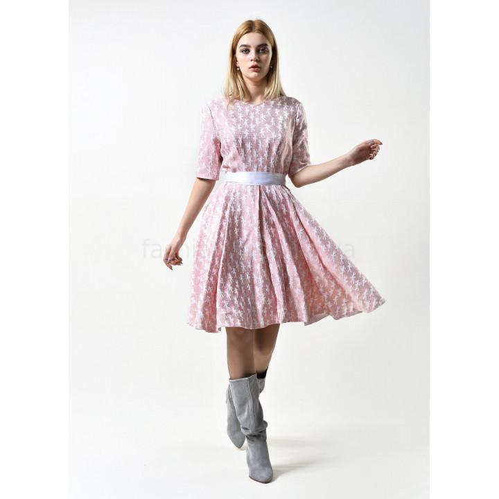 Платье «Айрин» розового цвета
