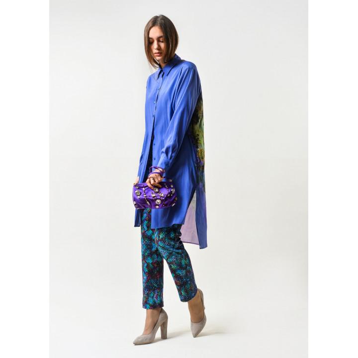 Рубашка Дейна-8 синего цвета