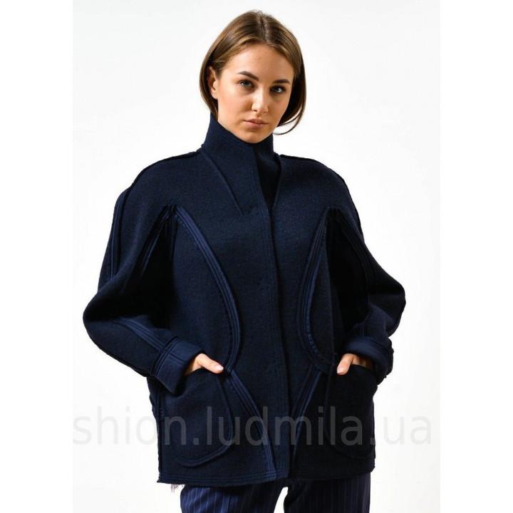 """Куртка """"Кабри"""" синего цвета"""